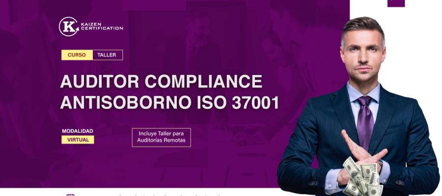 9VO Curso – Taller: INTERPRETACIÓN Y FORMACIÓN DE AUDITOR INTERNO ISO 37001:2016